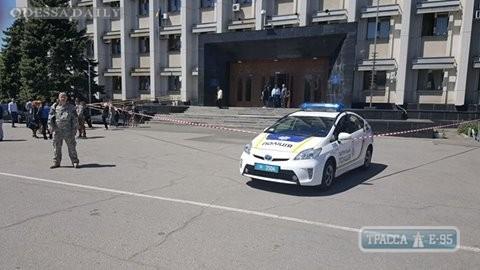 Полиция ищет взрывчатку в Одесской обладминистрации