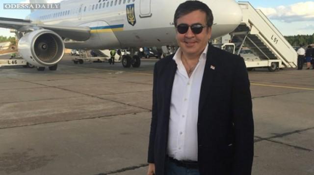 В МАУ рассказали, сколько Саакашвили потратил на перелеты