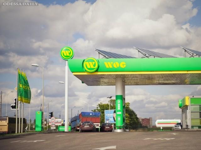 В Одессе открыли «солнечную» АЗС