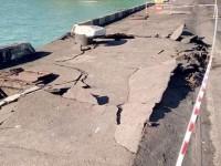 Стоимость ремонта поврежденного грузовым судном причала в порту Южный оценили в $50 тыс.
