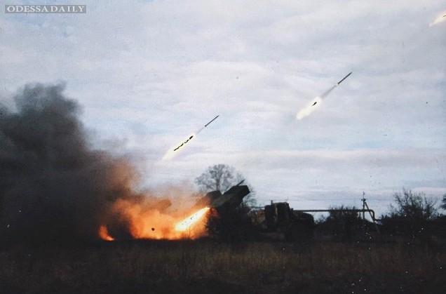 Боевики 111 раз обстреляли позиции сил АТО, трижды били из Градов - штаб