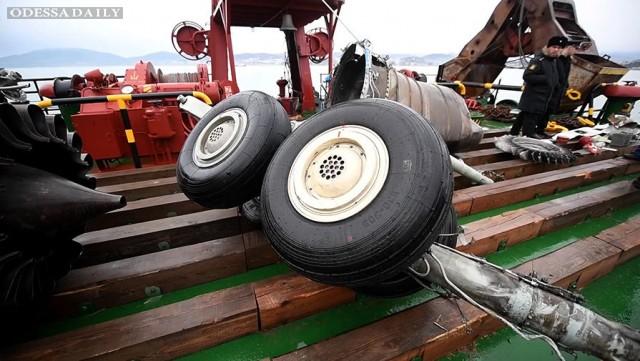 Ту-154 взял лишнее