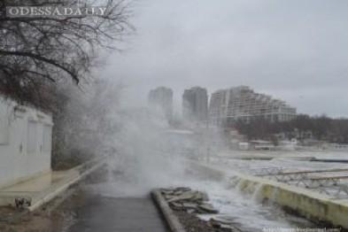 На Одессу надвигается шторм