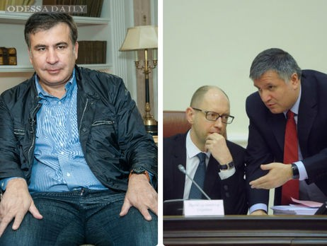 Сакашвили: Сейчас главный критерий правительства даже не спасти рядового Яценюка – спасти коррупционера Авакова (видео)