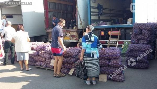 Из-за блокады Крыма на одесских рынках упали цены на овощи и фрукты
