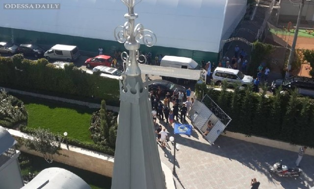 В Одессе активисты взяли штурмом замок Кивалова: фото, видео