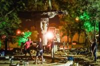 В Греческом парке Одессы началась установка фонтана «Начало начал»