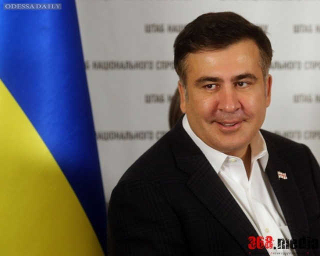 Саакашвили возмущен итогами конкурса по выбору начальника Ильичевского порта