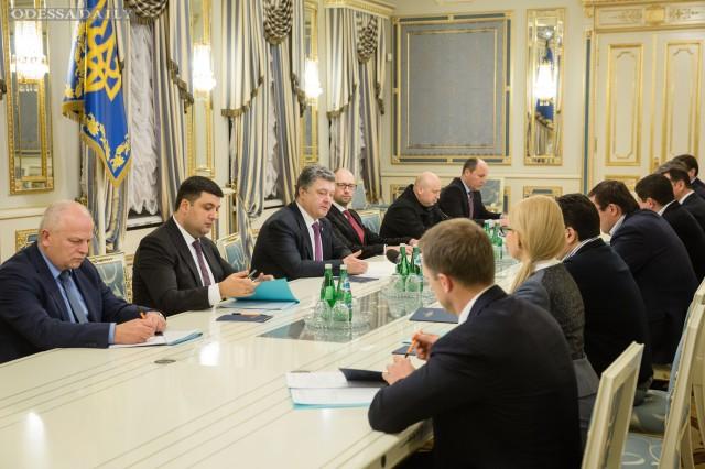 Стали известны результаты переговоров в Администрации президента о новой коалиции и правительстве