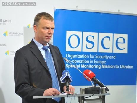 Замглавы спецмиссии ОБСЕ Хуг: Представитель ДНР угрожал убить наших наблюдателей