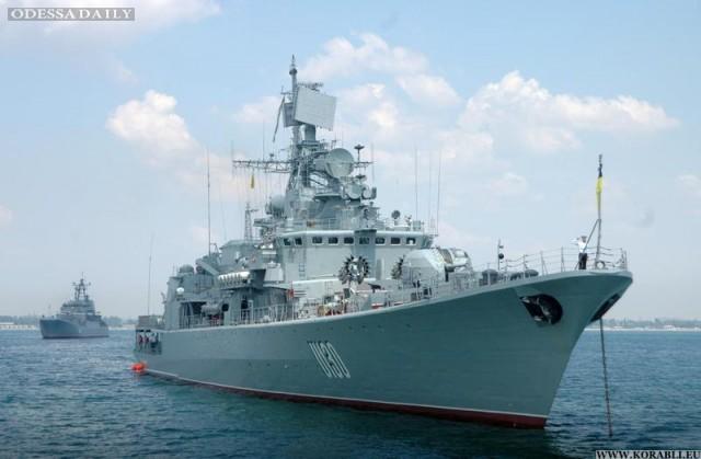 Одесские пограничники хотят получить фрегат Сагайдачный или подержанный катер из заграницы