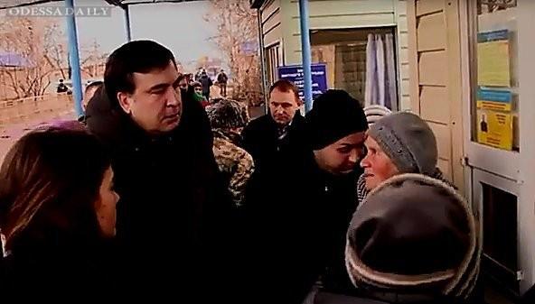 Саакашвили на таможенном пункте «Кучурган» решал вопросы с «непонятными металлическими штуками» (ВИДЕО)