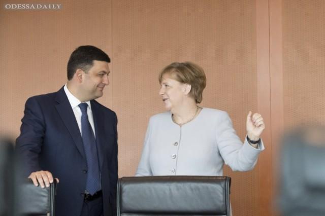 Германия видит условия для предоставления Украине кредитов, — Меркель