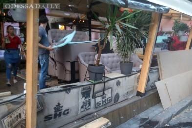 Полиция: в центре Одессы произошли три массовых нападения на турков