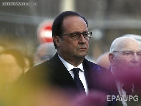 Олланд: в результате терактов в Париже погибло 128 человек