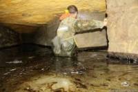 В Одессе канализационные стоки заливают катакомбы