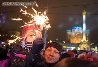 Евромайдан встретил Рождество без провокаций