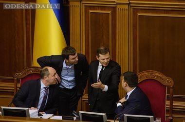 В Раде проходит расширенный Совет коалиции