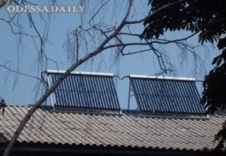 В Херсонской области в больнице установили солнечные батареи