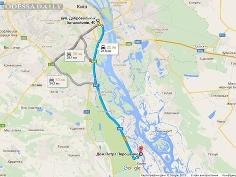 Активисты Автомайдана устроят автопробег к дому Порошенко с требованием уволить Шокина