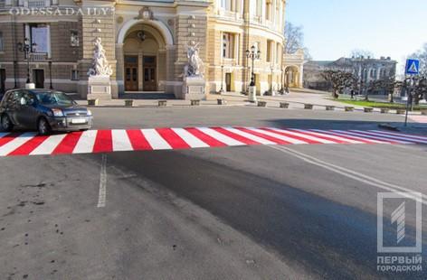 59 тонн краски уйдет на обновление дорожной разметки на всех основных магистралях Одессы