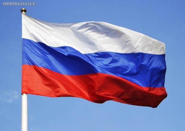 Казахи открыли сезон охоты за российскими флагами. ВИДЕО