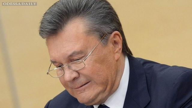 Суд начнет рассмотрение дела о госизмене Януковича 4 мая