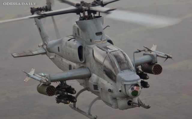 Украина может получить на вооружение вертолёты огневой поддержки AH-1W Super Cobra