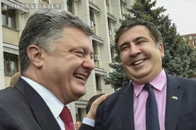 Саакашвили резко возразил Порошенко и назвал нового губернатора барыгой