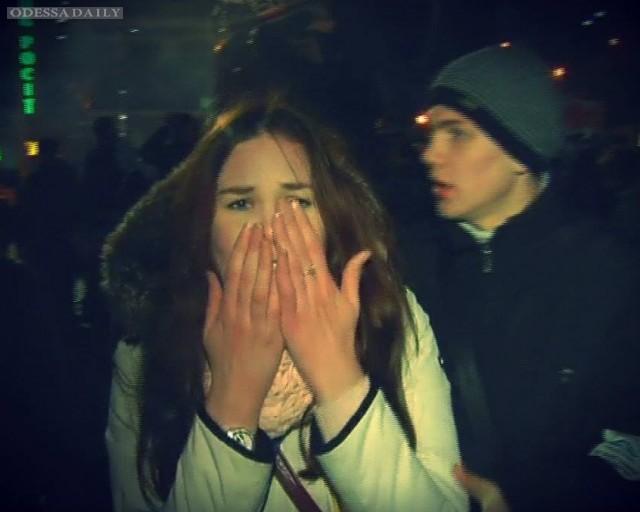 Годовщина разгона Евромайдана в Киеве