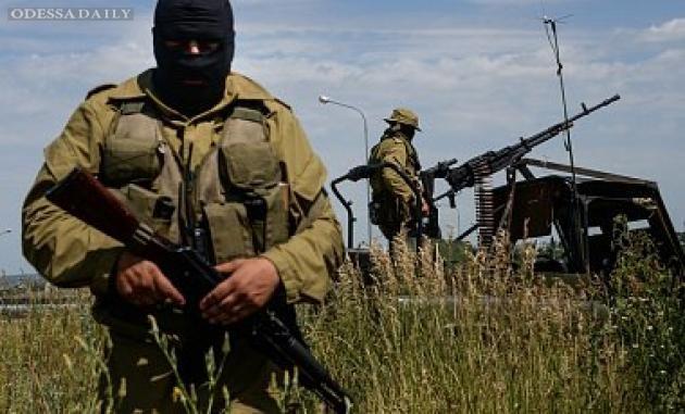 За ночь террористы 40 раз обстреляли позиции АТО, в том числе из запрещенного оружия