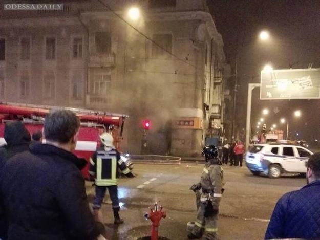 Казино на Тираспольской закидали коктейлями Молотова и сожгли