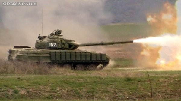 Боевики атаковали силы АТО в Мариновке, Саур-Могиле и Степановке