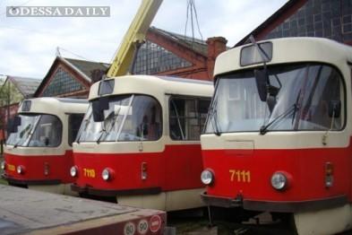 В центре Одессы вообще не будут работать трамваи
