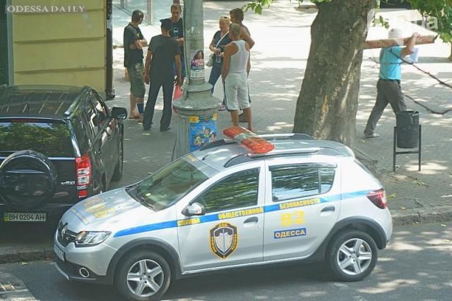 В центре Одессы возле банка открыли стрельбу