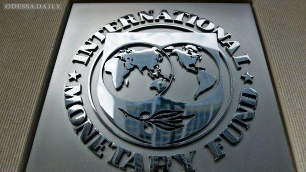 В Украину начали поступать деньги МВФ