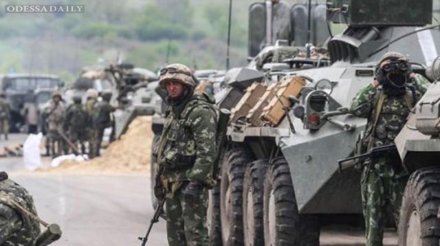 Сводка ИС: в район Старобешево переброшен батальон террористов