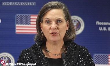 Нуланд: Нужно сохранять санкции, пока РФ не вернет Украине Крым