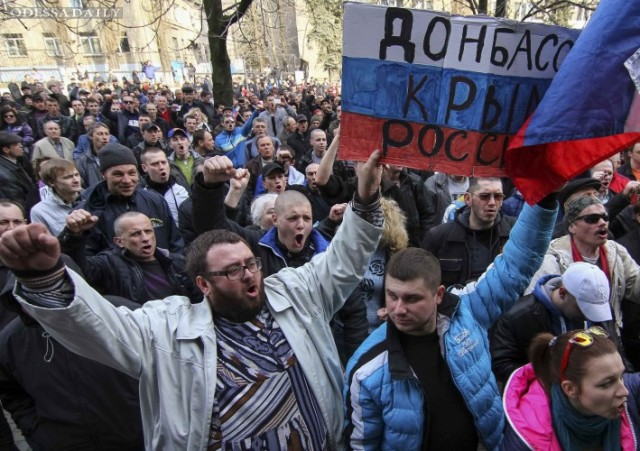 Лишь четверть россиян видят Донбасс в составе их страны