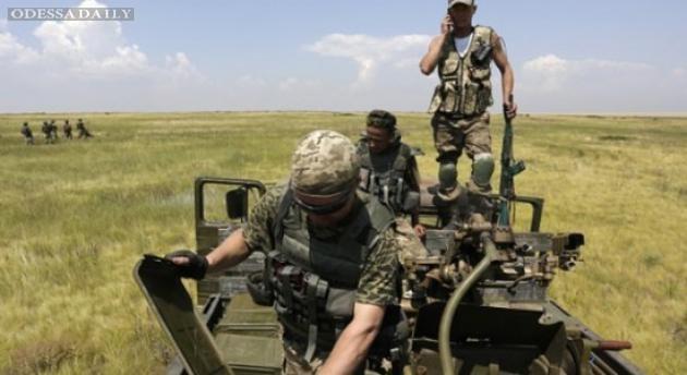 Наиболее горячо сутки прошли близ Донецка: 95 обстрелов - штаб
