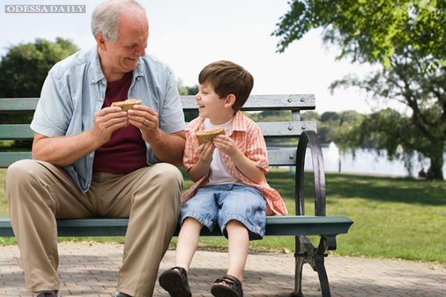 Зачем современным детям дедушка