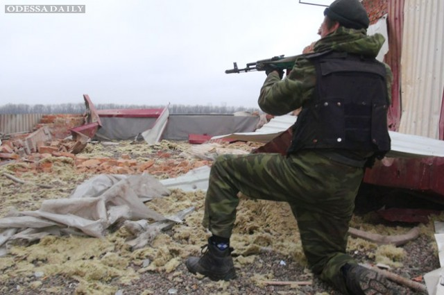 Боевики обвинили украинских военных в нарушении перемирия