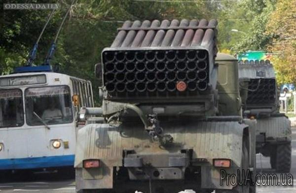 Боевики сообщили ОБСЕ, что доставили в Донецк 11 Градов