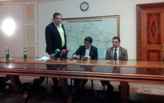 Саакашвили добился открытого неба над Одессой