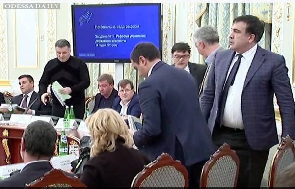 Аваков не отрицает, что видео встречи Саакашивили с российским бизнесменом может быть смонтировано