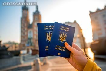 Безвизовым режимом за месяц воспользовались более 92 тысяч украинцев