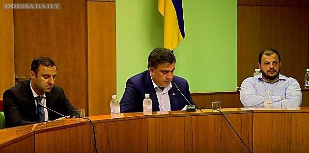 Саакашвили привлечет к ответственности зампрокурора Одесской области за препятствие инвесторам зайти в город со 100 миллионами
