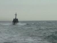 В море под Одессой прошли испытания малых бронированных артиллерийских катеров. Видео