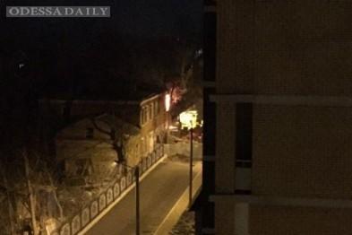 На Французском бульваре Одессы горела дача Анатра