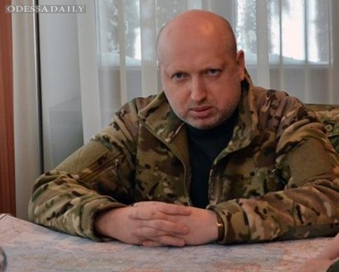 Террористы перешли к наступательной операции - Турчинов